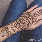 Фото Мехенди на запястье от 12.09.2018 №026 - Mehendi on the wrist - tatufoto.com