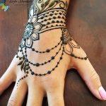 Фото Мехенди на запястье от 12.09.2018 №028 - Mehendi on the wrist - tatufoto.com