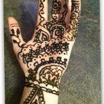 Фото Мехенди на запястье от 12.09.2018 №035 - Mehendi on the wrist - tatufoto.com