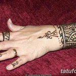 Фото Мехенди на запястье от 12.09.2018 №044 - Mehendi on the wrist - tatufoto.com