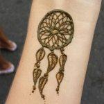 Фото Мехенди на запястье от 12.09.2018 №046 - Mehendi on the wrist - tatufoto.com