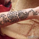 Фото Мехенди на запястье от 12.09.2018 №049 - Mehendi on the wrist - tatufoto.com