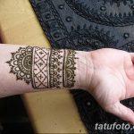 Фото Мехенди на запястье от 12.09.2018 №056 - Mehendi on the wrist - tatufoto.com