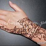 Фото Мехенди на запястье от 12.09.2018 №058 - Mehendi on the wrist - tatufoto.com