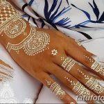 Фото Мехенди на запястье от 12.09.2018 №067 - Mehendi on the wrist - tatufoto.com
