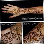 Фото Мехенди на запястье от 12.09.2018 №069 - Mehendi on the wrist - tatufoto.com