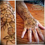 Фото Мехенди на запястье от 12.09.2018 №071 - Mehendi on the wrist - tatufoto.com