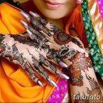 Фото Мехенди на запястье от 12.09.2018 №074 - Mehendi on the wrist - tatufoto.com