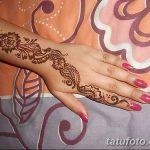 Фото Мехенди на запястье от 12.09.2018 №077 - Mehendi on the wrist - tatufoto.com