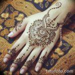 Фото Мехенди на запястье от 12.09.2018 №078 - Mehendi on the wrist - tatufoto.com
