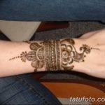 Фото Мехенди на запястье от 12.09.2018 №079 - Mehendi on the wrist - tatufoto.com