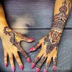 Фото Мехенди на запястье от 12.09.2018 №083 - Mehendi on the wrist - tatufoto.com