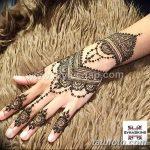Фото Мехенди на запястье от 12.09.2018 №084 - Mehendi on the wrist - tatufoto.com