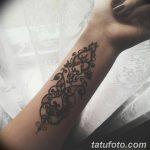 Фото Мехенди на запястье от 12.09.2018 №085 - Mehendi on the wrist - tatufoto.com