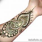 Фото Мехенди на запястье от 12.09.2018 №087 - Mehendi on the wrist - tatufoto.com