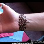 Фото Мехенди на запястье от 12.09.2018 №099 - Mehendi on the wrist - tatufoto.com