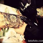 Фото Мехенди на запястье от 12.09.2018 №111 - Mehendi on the wrist - tatufoto.com