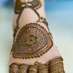 Фото Мехенди на ступне (рисунки хной) от 08.09.2018 №018 - Mehendi foot - tatufoto.com