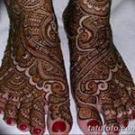 Фото Мехенди на ступне (рисунки хной) от 08.09.2018 №104 - Mehendi foot - tatufoto.com