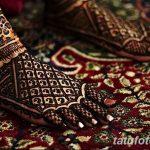 Фото Мехенди на ступне (рисунки хной) от 08.09.2018 №111 - Mehendi foot - tatufoto.com