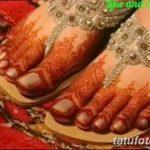 Фото Мехенди на ступне (рисунки хной) от 08.09.2018 №123 - Mehendi foot - tatufoto.com