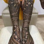 Фото Мехенди на ступне (рисунки хной) от 08.09.2018 №154 - Mehendi foot - tatufoto.com