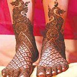 Фото Мехенди на ступне (рисунки хной) от 08.09.2018 №155 - Mehendi foot - tatufoto.com
