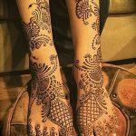 Фото Мехенди на ступне (рисунки хной) от 08.09.2018 №170 - Mehendi foot - tatufoto.com