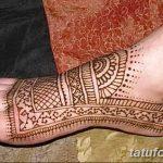 Фото Мехенди на ступне (рисунки хной) от 08.09.2018 №198 - Mehendi foot - tatufoto.com