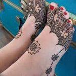 Фото Мехенди на ступне (рисунки хной) от 08.09.2018 №223 - Mehendi foot - tatufoto.com