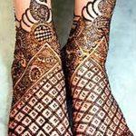 Фото Мехенди на ступне (рисунки хной) от 08.09.2018 №225 - Mehendi foot - tatufoto.com