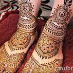 Фото Мехенди на ступне (рисунки хной) от 08.09.2018 №236 - Mehendi foot - tatufoto.com