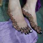 Фото Мехенди на ступне (рисунки хной) от 08.09.2018 №244 - Mehendi foot - tatufoto.com