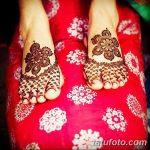 Фото Мехенди на ступне (рисунки хной) от 08.09.2018 №247 - Mehendi foot - tatufoto.com