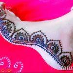 Фото Мехенди на ступне (рисунки хной) от 08.09.2018 №277 - Mehendi foot - tatufoto.com