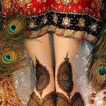 Фото Мехенди на ступне (рисунки хной) от 08.09.2018 №290 - Mehendi foot - tatufoto.com