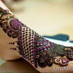 Фото Мехенди на ступне (рисунки хной) от 08.09.2018 №293 - Mehendi foot - tatufoto.com