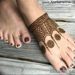 Фото Мехенди на ступне (рисунки хной) от 08.09.2018 №326 - Mehendi foot - tatufoto.com
