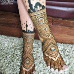 Фото Мехенди на ступне (рисунки хной) от 08.09.2018 №334 - Mehendi foot - tatufoto.com