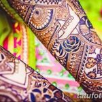 Фото Роспись мехенди (рисунки хной) от 11.09.2018 №004 - Painting mehendi - tatufoto.com