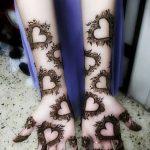 Фото Роспись мехенди (рисунки хной) от 11.09.2018 №043 - Painting mehendi - tatufoto.com