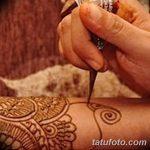 Фото Роспись мехенди (рисунки хной) от 11.09.2018 №096 - Painting mehendi - tatufoto.com