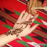 Фото Роспись мехенди (рисунки хной) от 11.09.2018 №135 - Painting mehendi - tatufoto.com