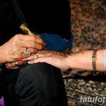 Фото Роспись мехенди (рисунки хной) от 11.09.2018 №137 - Painting mehendi - tatufoto.com