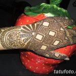 Фото Роспись мехенди (рисунки хной) от 11.09.2018 №174 - Painting mehendi - tatufoto.com