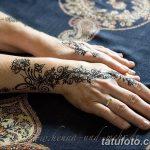 Фото Роспись мехенди (рисунки хной) от 11.09.2018 №185 - Painting mehendi - tatufoto.com