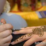 Фото Роспись мехенди (рисунки хной) от 11.09.2018 №216 - Painting mehendi - tatufoto.com