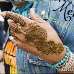Фото Роспись мехенди (рисунки хной) от 11.09.2018 №217 - Painting mehendi - tatufoto.com