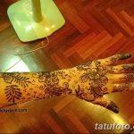 Фото Роспись мехенди (рисунки хной) от 11.09.2018 №237 - Painting mehendi - tatufoto.com