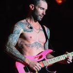 Фото Тату Адама Левина от 21.09.2018 №007 - Adam Levine tattoo - tatufoto.com